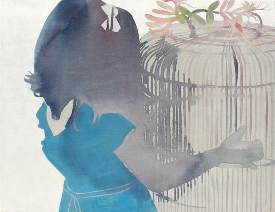 Honeysuckle   |   130 x 100 cm   |   Sold