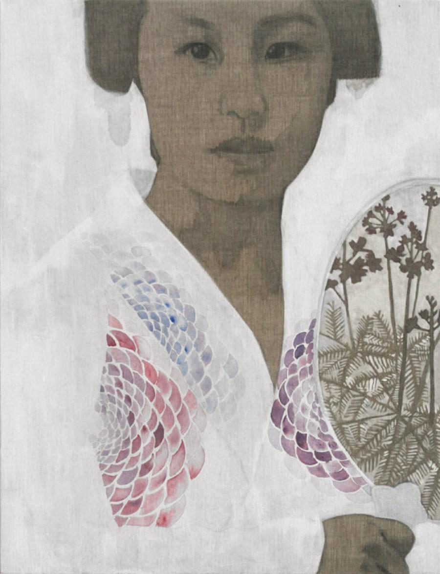 Water Violet   |   130 x 100 cm   |   Sold