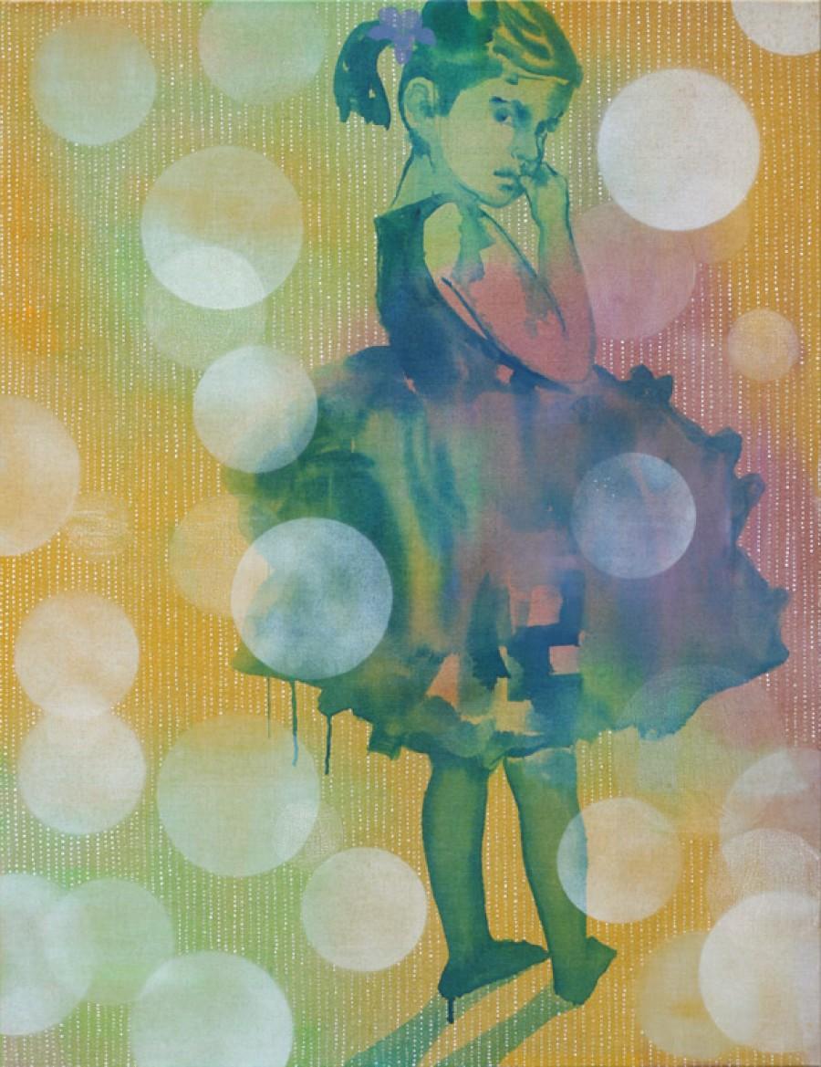 Gentian   |   130 x 100 cm   |   Sold