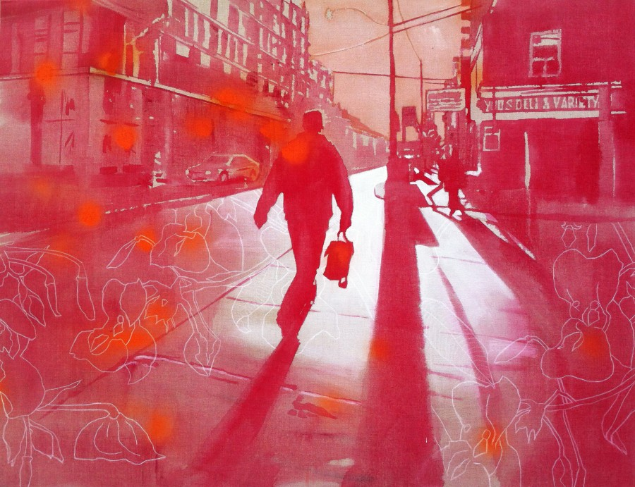 Impatiens   |   130 x 100 cm   |   available at Kunstuitleen Voorburg