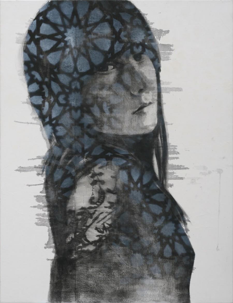 Scleranthus   |   130 x 100 cm   |   available at Kunstuitleen Voorburg