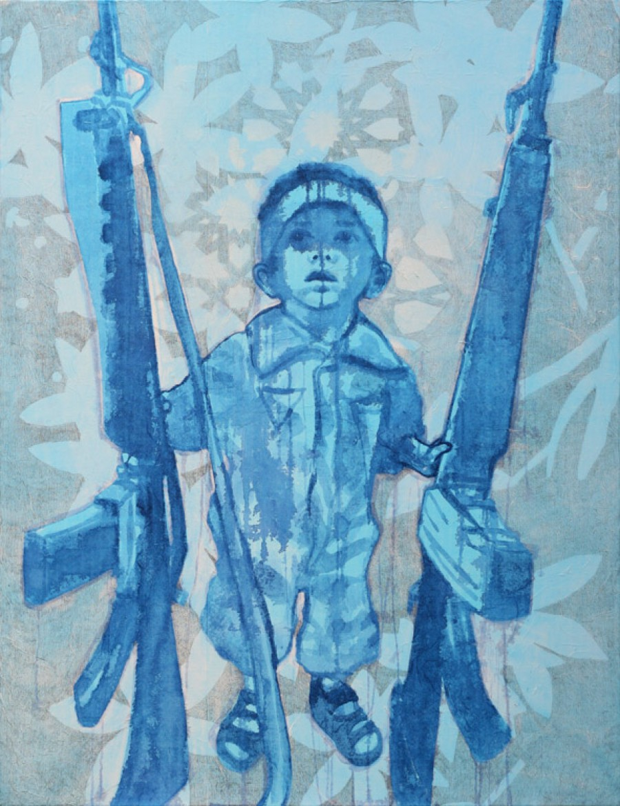 Star of Bethlehem   |   130 x 100 cm   |   Sold