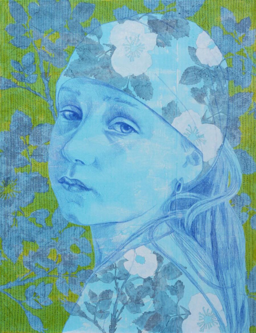 Wild Rose  |   130 x 100 cm   |  SOLD