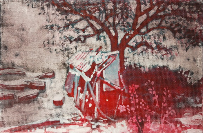Abels hut | 10 x 15 cm | available at Vonkel gallery