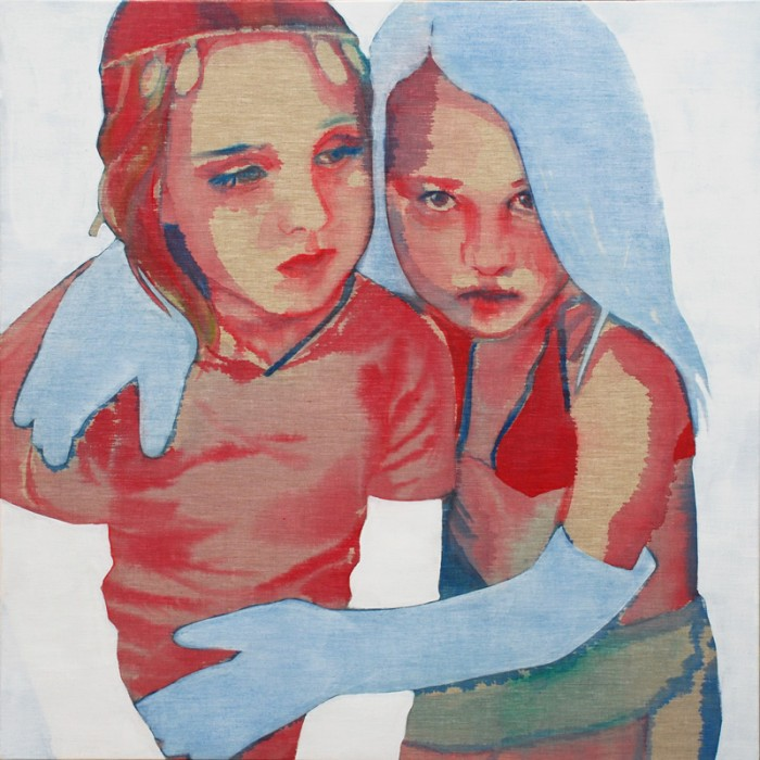 Best Friends | 120 x 120 cm | available at Vonkel gallery