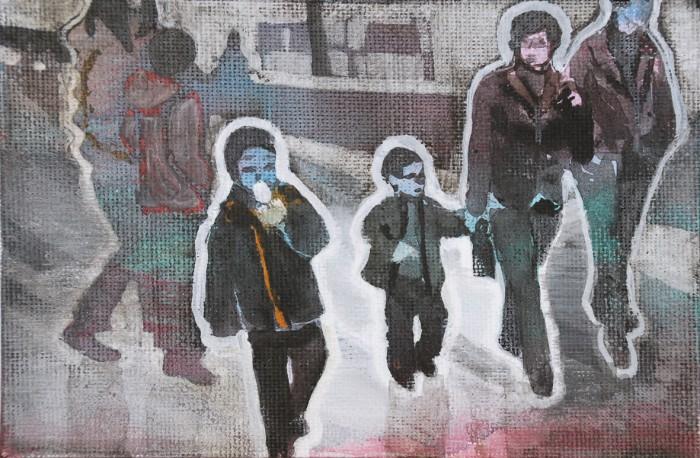Family in Beijing | 10 x 15 cm