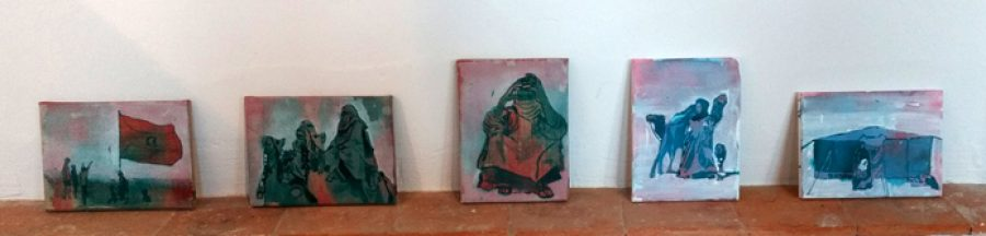 Weet Sahara 1,2,3,4,5 Each 18 x 24 cm  Available at POP-UP, HeartPool Gallery Hengelo