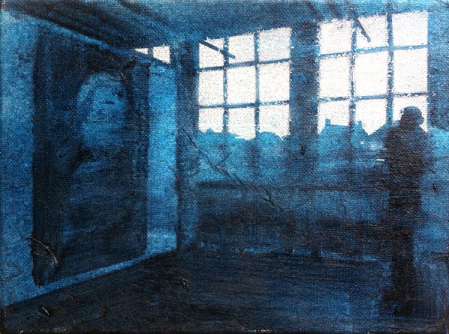 Winterswijk   |   18 x 24 cm   |   mixed media on canvas
