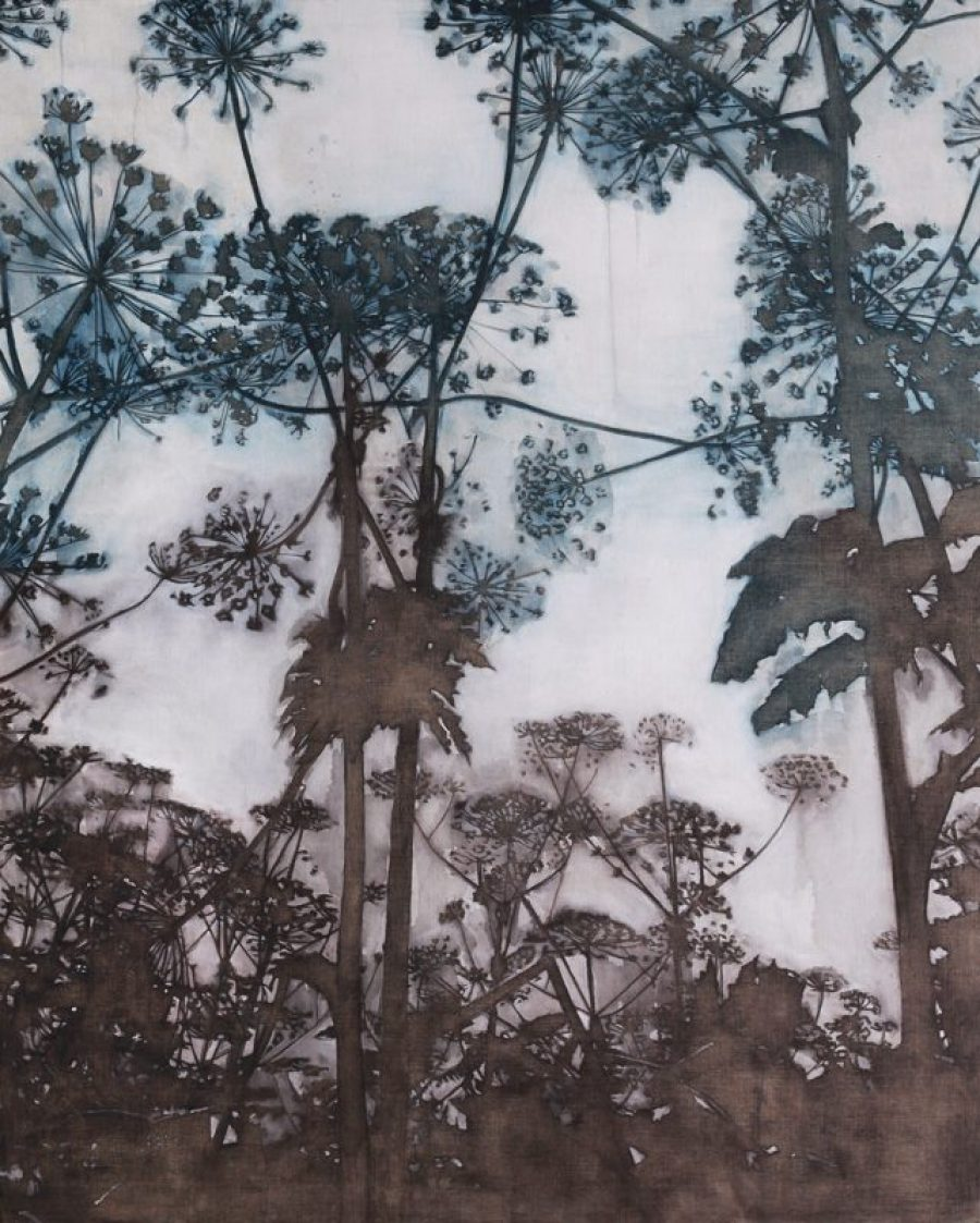 Hogweeds Serenade #1   |    200 x 160 cm   |   available at Kahn Gallery, London
