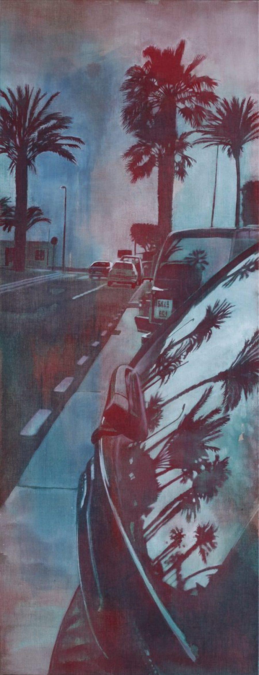 Life in a window #3   |   161 x 62 cm