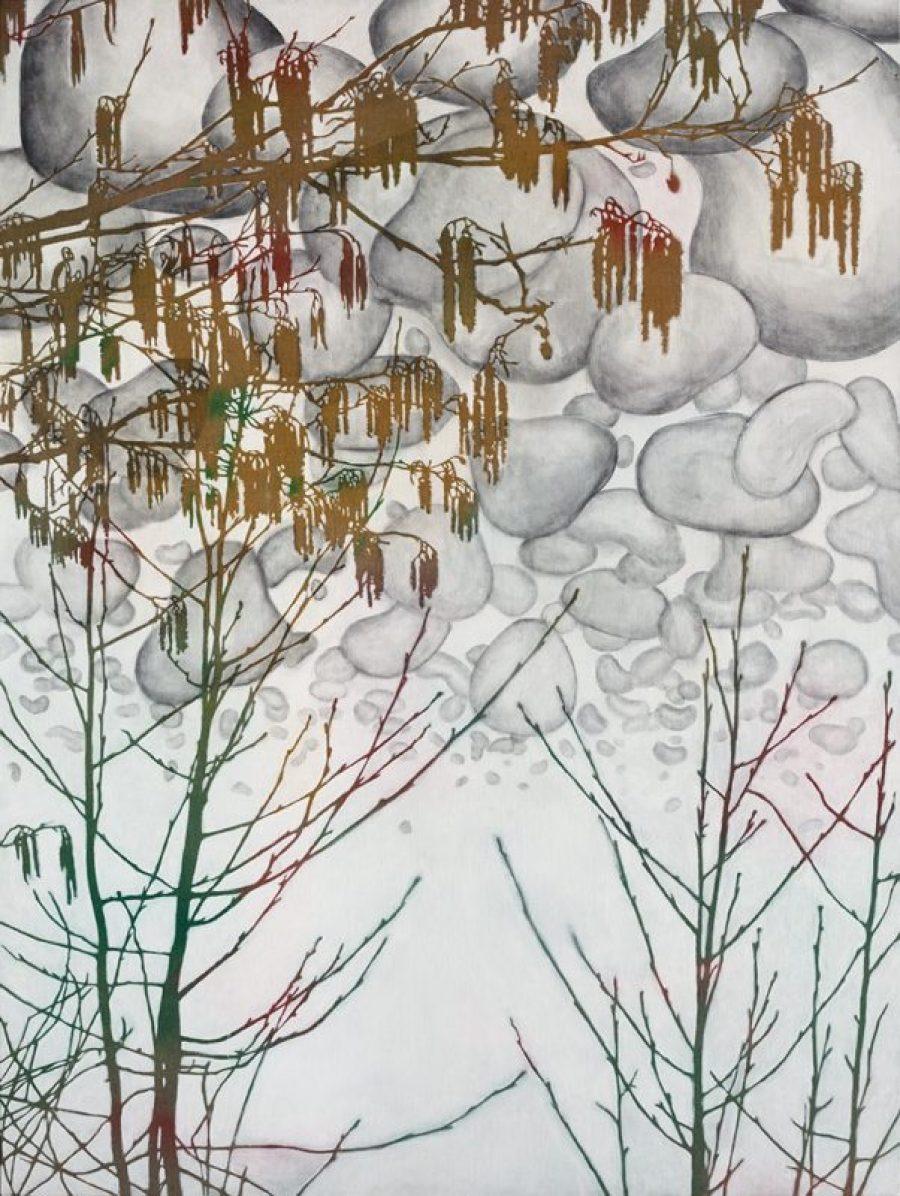 Whisper of spring   |   200 x 150 cm   |   Available at Kunst of Art, Zutphen