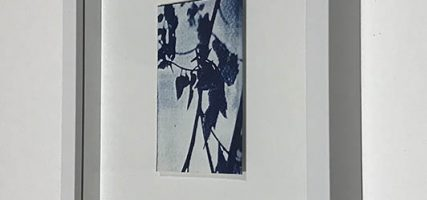 One | 9 x 6 cm, frame 23 x 19 cm | €50,-