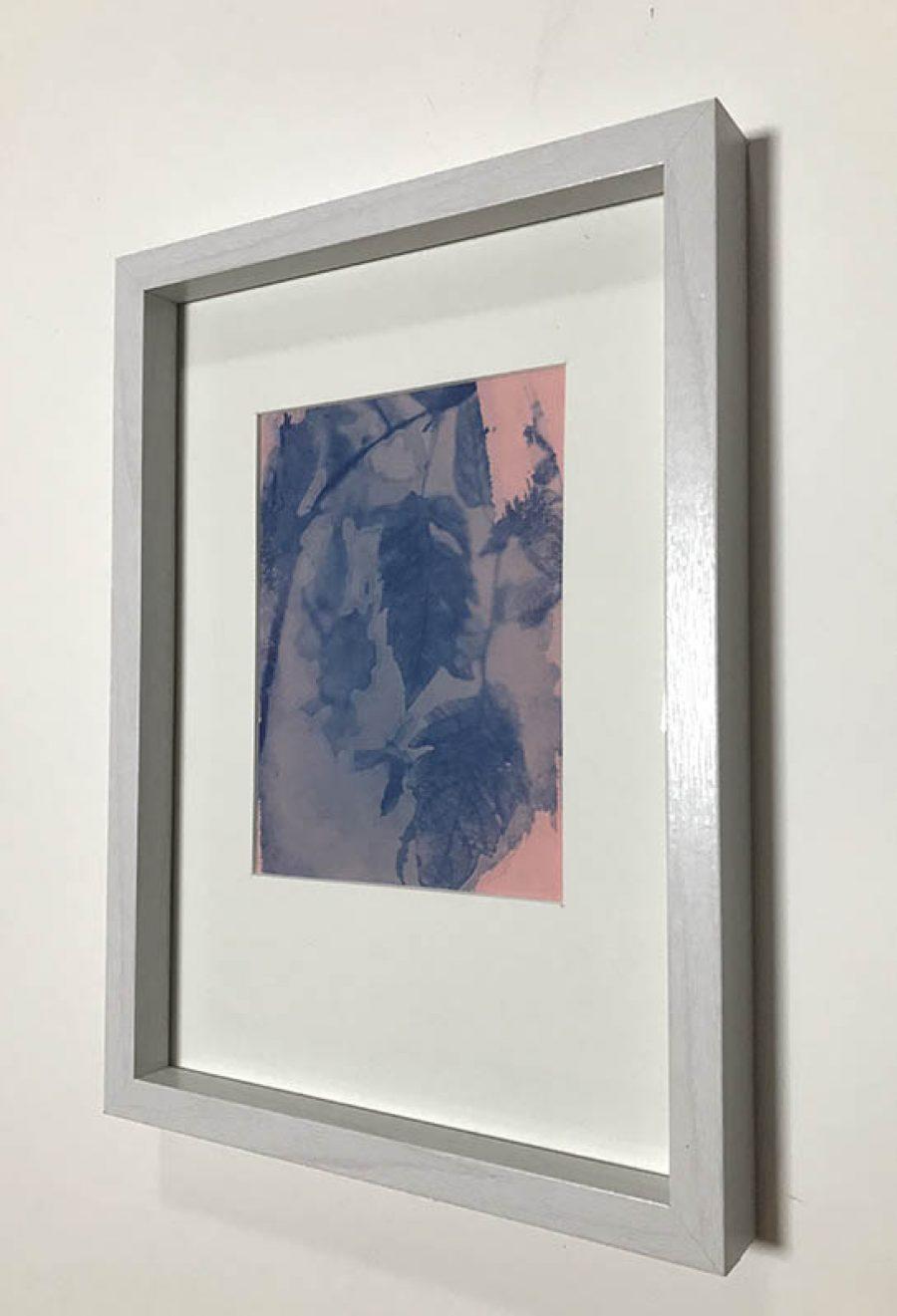Seven    |   17 x 12 cm, frame 32 x 23 cm   |     SOLD